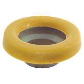 Toilet Bowl-to-Flange Wax Ring w/flange
