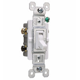 Switch 3-Way White 15A 120V