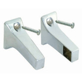Towel Bar Posts 5/8 CP Exposed Screw pair