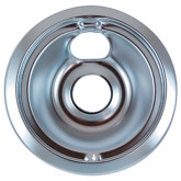 "Drip Pan 8"" Chrome 6/PK"