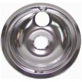 "Drip Pan 8"" Chrome Ele Rng GE"