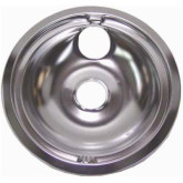 "Drip Pan 6"" Chrome Ele Rng GE"